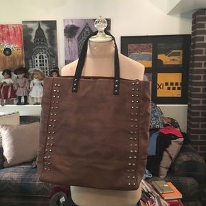 Free People Leather Tote